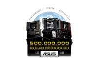 ASUS Celebrates 500 Million Motherboard Sales