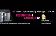 Rittal LCP-DX Named Most Suitable and Energy Efficient Product