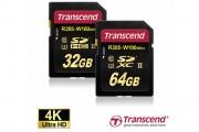 Transcend UHS-II U3 compliant memory card