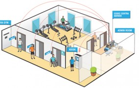 Viva Gym Trusts Matrix Access Control Solution.
