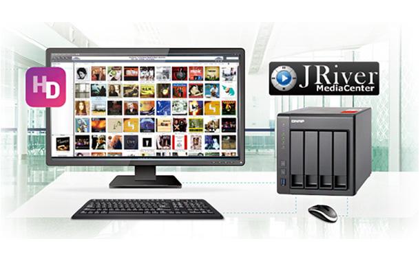 QNAP's HD Station Adds JRiver Media Center Support | SMEChannels