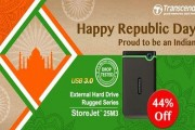 Transcend to celebrate Republic Day with special promotions