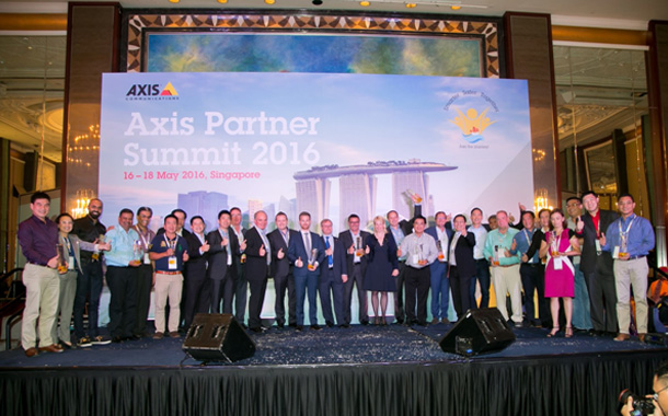Axis recognizes exclusive partners