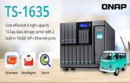 QNAP Launches Quad-core TS-1635 with 16-bay Storage Capacity