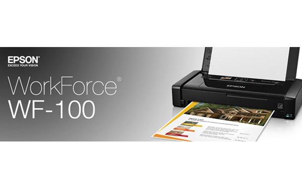 epson workforce wf 100 mobile printer