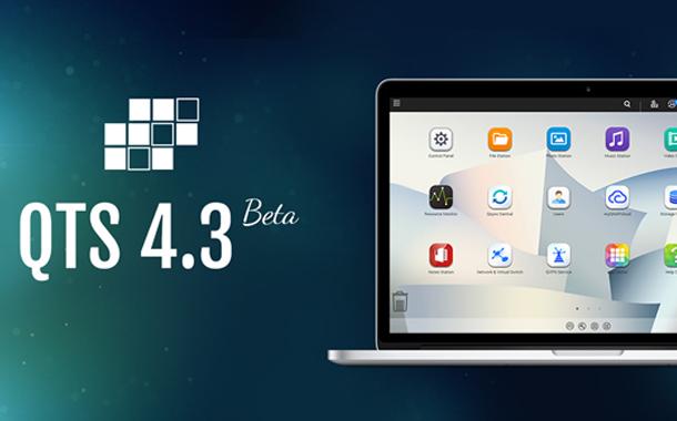 QNAP Releases New Intelligent NAS OS QTS 4.3 Beta