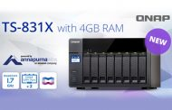 QNAP presents Quad-core TS-831X NAS with 1.7 GHz CPU
