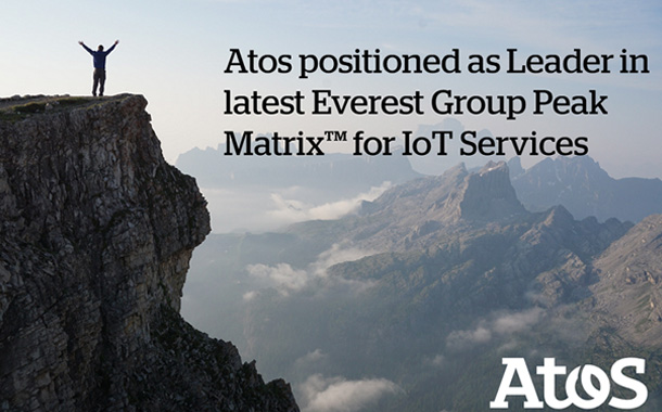 Atos Positioned a Leader for IoT Services