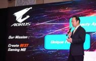 GIGABYTE Demonstrates AORUS Gaming Products & Systems