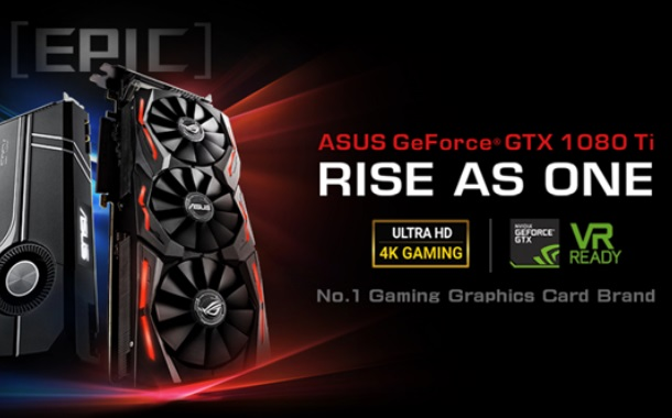 ASUS Announces ROG Strix GeForce GTX 1080 Ti