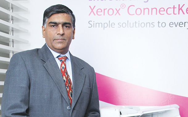 Balaji Rajagopalan, Executive Director, Technology, Channels & International Distributor Operations, Xerox India