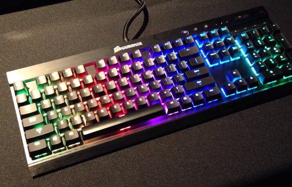CORSAIR combines Mechanical Precision, affordability Tenkeyless K63 Mechanical Gaming Keyboard