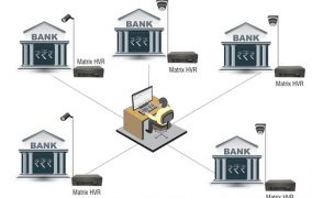 Matrix IP Video Surveillance Solution Secures 52+ Branch Offices Of A Reputed Bank Across India