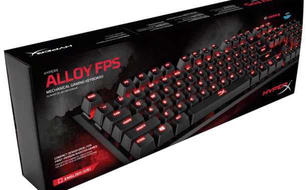 HyperX ALLOY FPS Gaming Keyboard @ INR 8,999