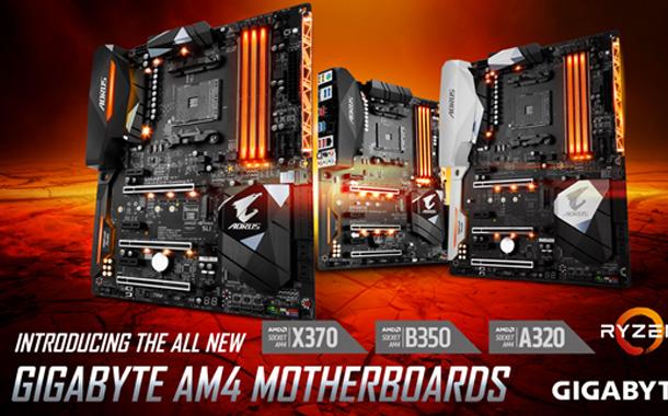 Gigabyte rolls out A320 chipset motherboards for AMD AM4 platform