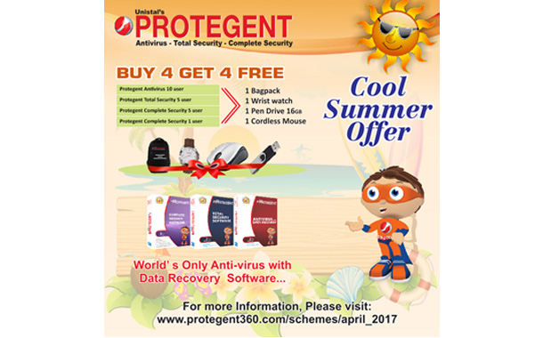 Protegent's Cool Summer Offer April 2017: BUY 4 GET 4 By Unistal