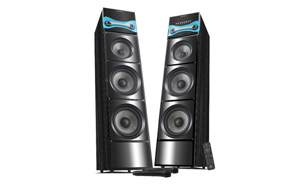 Zebronics Brings 'Hard Rock 3' Tower speakers at Rs. 27,272/
