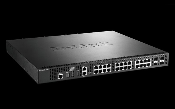 D-Link DXS-3400-24TC 10GbE Stackable Managed Switch outperforms competitor in Tolly Report