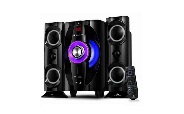 "Zebronics brings in ""Tornado 2"" 2.1 Speakers"