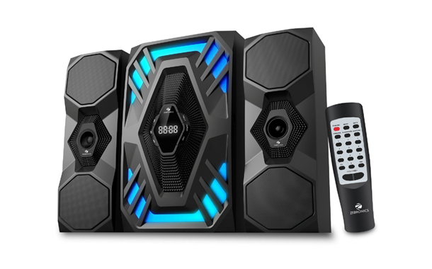 "Zebronics launches its newest ""Future"" 2.1 & 4.1 Speakers"