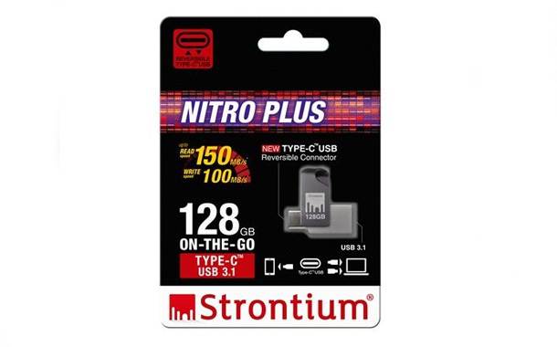 Strontium Unveils New Generation NITRO Plus On-The-Go (OTG) Type-C USB 3.1