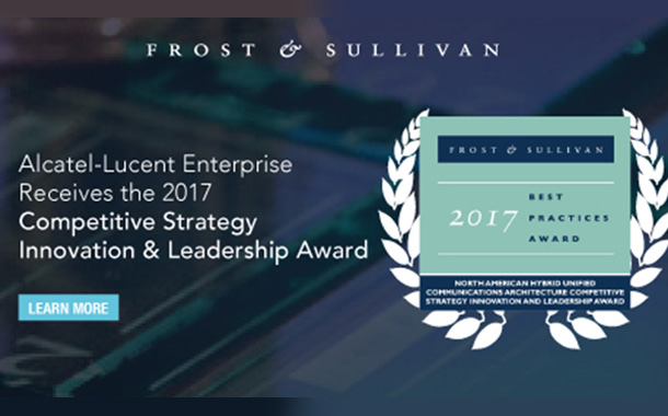 Frost & Sullivan recognizes ALE's UC Cloud services for innovation and industry leadership