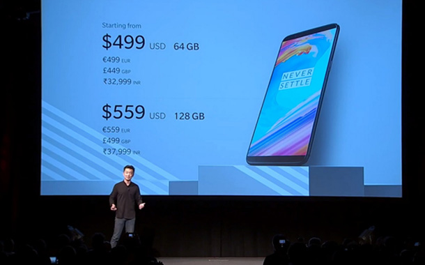 OnePlus brings latest flagship device 5T to India with Amazon