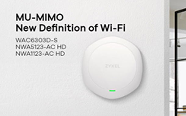 Zyxel Addresses 11ac Wave 2 WiFi challenges with New Wireless Access Points