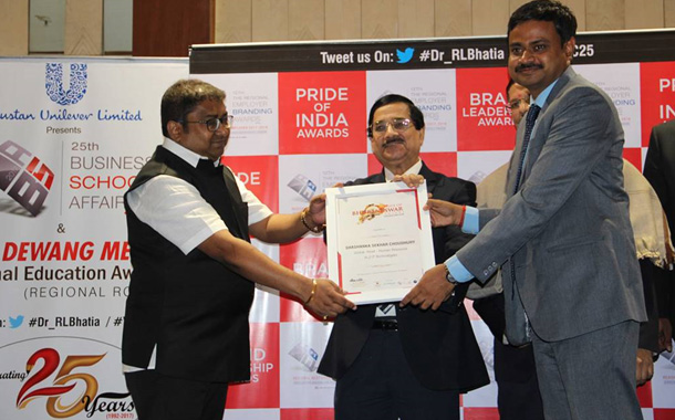 In2IT Technologies conferred 'Bhubaneswar Best Employer Brand Award 2017