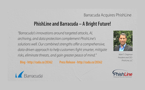 Barracuda buys phishing simulation company PhishLine
