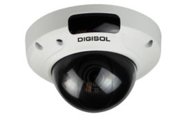 DIGISOL 5 Mega Pixel IP CCTV Dome Camera for Smart Home/Office Surveillance