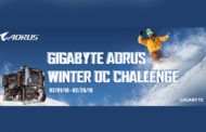 GIGABYTE Announces the AORUS Winter OC Challenge