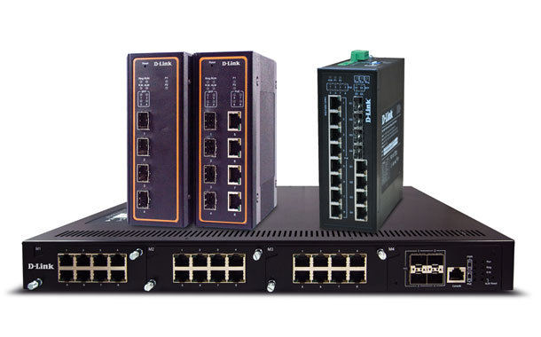 D-Link Industrial Grade Switches