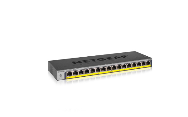 NETGEAR'S GS116LP AND GS116PP – UNMANAGED SWITCHES WITH 16
