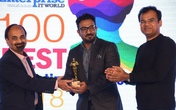 R Systems' Head of Global Marketing–Ram Ramalingam, awarded the Top-100 Best Marketing Minds of India Award, 2018