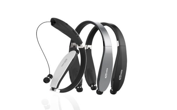 Portronics' Harmonics 200 -RetractableNeckband Earphones
