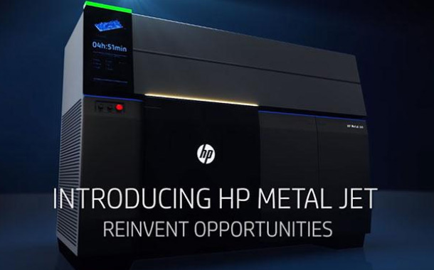 HP Unveils HP Metal Jet – The World's most Advanced Metals 3D Printing Technology