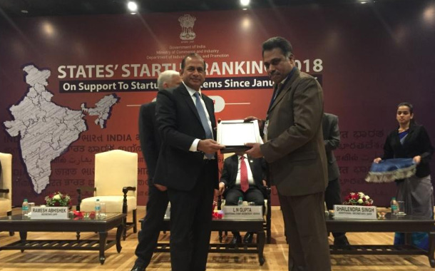 Kerala honoured with 'Top Performer' recognition in States' Startup Ranking 2018