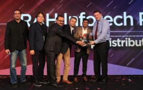 RAH Infotech Receives 'Asia's fastest growing distributor' Award from Radware