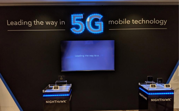 NETGEAR Demonstrates Nighthawk 5G Mobile Hotspot at CES 2019