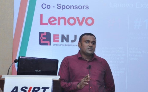 ASIRT hosts Lenovo and Enjay IT Solutions as part of their Monthly Techday for December