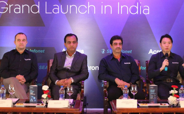 Acronis onboards SEA Infonet as distributor for India