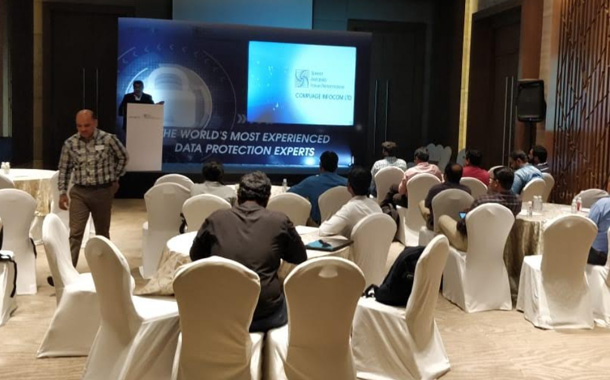 Compuage and Arcserve Conducted Focused Data Protection Event in Bengaluru