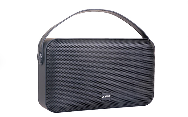 F&D unveils its latest portable Bluetooth speaker W19 with passive radiator design for powerful bass