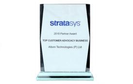Altem Technologies wins at Stratasys APJ Annual Partner Meet 2019 in Bangkok, Thailand
