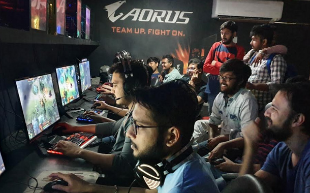 Four-Day AORUS Tournament Kicked Off at A-Long Gaming Cafe