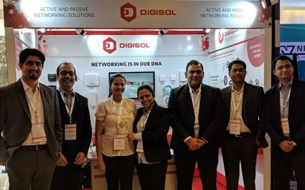 DIGISOL Showcases New POE Enterprise Cabling Series at BICSI 2019, Mumbai