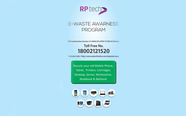 Go Green: RP Tech India Opens 50 E-Waste Collection Centers Pan India
