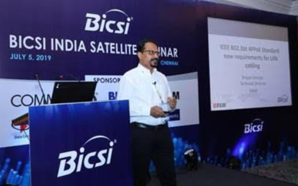 Copper and Fiber cabling solutions Showcased by R&M at BICSI Seminar in Chennai