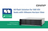 QNAP to address All-flash Solution for 500 VDI Seats with VMware Horizon View